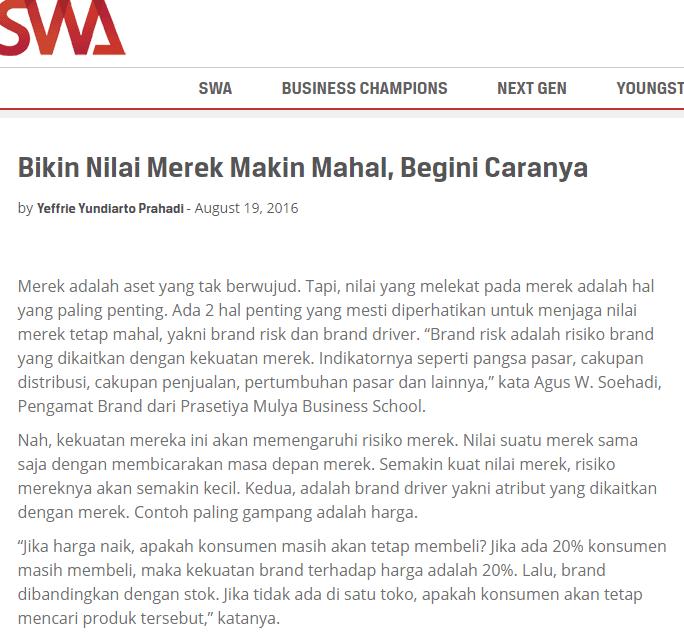 artikel agus w soehadi