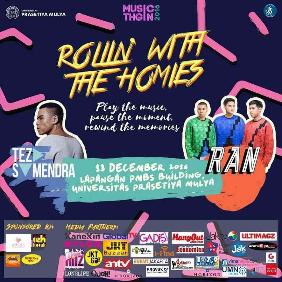 Music Night Poster 2016