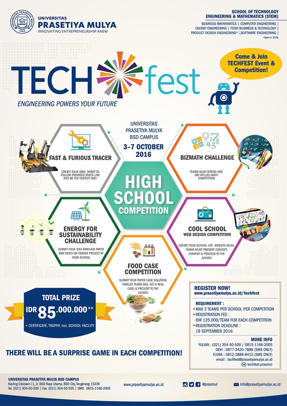 Poster Tech Fest