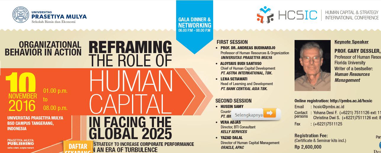 human capital and strategy novemeber 2016