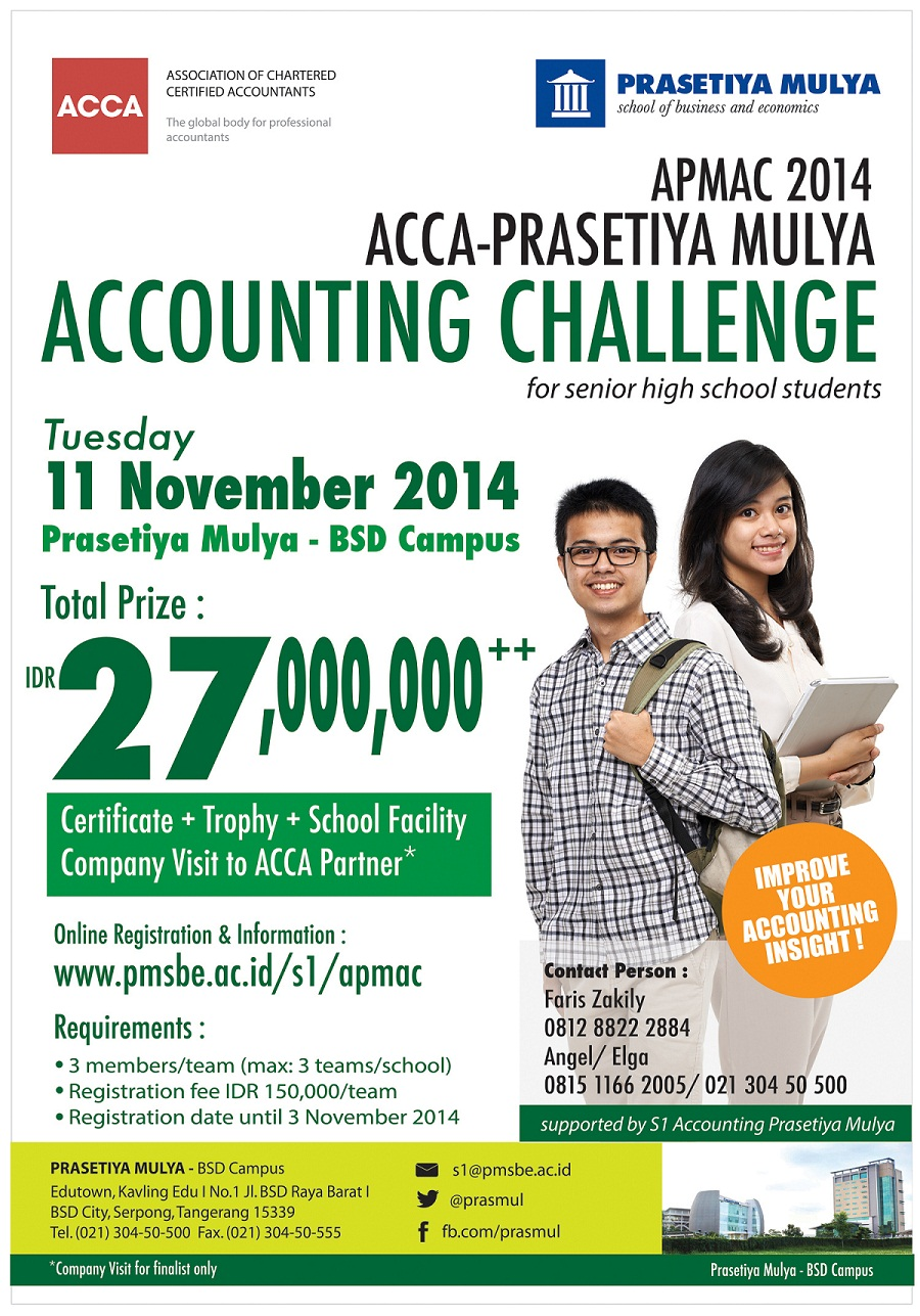poster event accounting