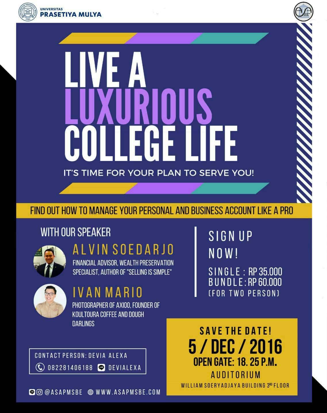 Live a Luxurious Life